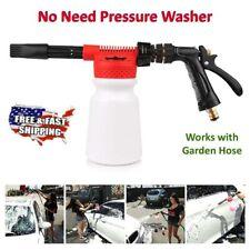 Foam Spray Gun Car Wash Cleaning Lance 900ml Shampoo Cannon + Hose Connector