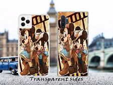 Disney Minnie Mickey West Cowboy &Cowgirl Phone Case Cover