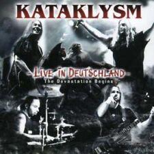 KATAKLYSM LIVE IN DEUTSCHLAND Devastion Begins CD & DVD ALL REGIONS NTSC NEW
