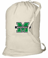 Marshall University Laundry Bags BEST Marshall Clothes Bag w/ SHOULDER STRAP!