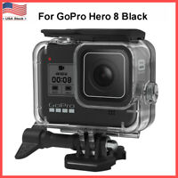 For GoPro Hero 8 Black Waterproof Case Cover Protective Underwater Dive Housing
