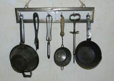 ANCIEN PORTE-USTENSILES GARNI - BELLE DECO CUISINE ! 1950-60