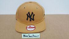 New Era York Yankees Wheat Tan Brown Snapback Hat Nike Air Force 1 Timberland