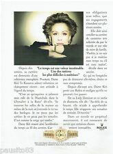 PUBLICITE ADVERTISING 115  1997  ROLEX LADY-DATEJUST CHRONO par  KIRI TE KANAWA