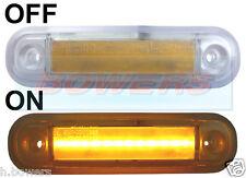 12v/24v montaggio esterno LED Ambra Luce di Posizione Laterale/Luce Camion Van Auto Kelsa BAR