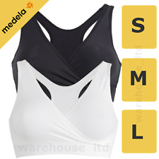 Medela Sleep Bra, Stretch Fabric, Comfortable Sleep Bra Small Med Large