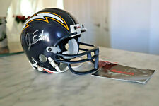 Vintage 1995 Riddell SAN DIEGO CHARGERS Collectible Mini 3 5/8 Helmet Dan Fouts