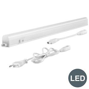 9W LED Unterbau-Leuchte Lampe 60cm Küchen Aufbau-Strahler Lichtleiste Schrank DE