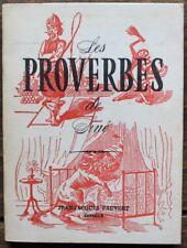 SINE Les Proverbes de Siné Editions Jean-Jacques PAUVERT 1958 - 61 planches