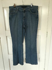 "Womens STRETCH CALVIN KLEIN JEANS SIZE 12 ""FLARE"""