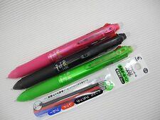 Black & Pink & Green Pilot FRIXION Ball 3 0.5mm rollerball pen free refill R&L&B