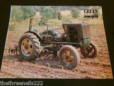 JOHN DEERE - GREEN MAGAZINE - AUG 1995 VOL 11 # 8 - 4 WHEEL DRIVE TRACTORS