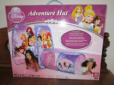 Disney Princess Indoor Adventure Hut Tent Playhut Twist N Fold Pop Up Setup