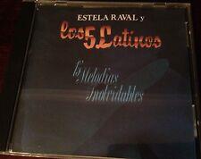 Estela Raval Y los 5 Latinos - 15 Melodias Inolvidables