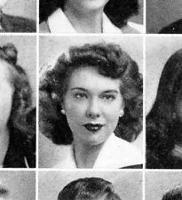 "JOYCE RANDOLPH High School Yearbook ""HONEYMOONERS"" SENIOR YEAR Trixie Norton"