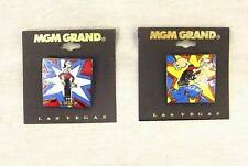 Popeye and Olive Enamel Pin Set 1993 Mgm Grand Adventures Theme Park