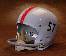 1957 NATIONAL CHAMPIONS OHIO STATE BUCKEYES Authentic GAMEDAY Football Helmet