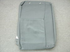 Saab 9-3 gray leather right rear seat back cover