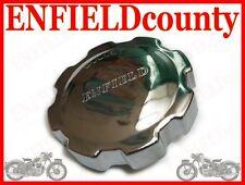 NEW FUEL TANK CHROME PUSH LOCK CAP FOR ROYAL ENFIELD 141368