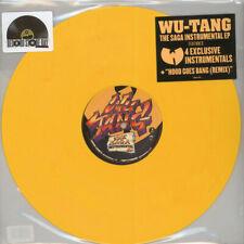 Wu-Tang Clan - The Saga Instrumentals Yellow Vinyl  (LP - 2018 - US - Original)