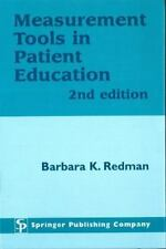 Measurement Tools in Patient Education, Second Edition