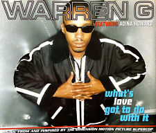 Warren G Featuring Adina Howard Maxi CD What's Love Got To Do With It - Europe