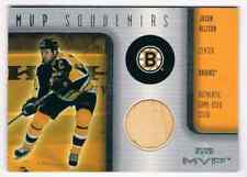 2001-02 MVP SOUVENIRS JASON ALLISON PIECE OF HOCKEY STICK BOSTON BRUINS #S-JA