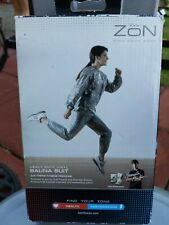 Sauna Suit Heavy Duty Vinyl Zon Find Your Zone 2 Piece Elastic Waist and Cuffs