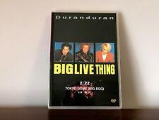 Duran Duran BIG LIVE THING (2/22/1989) DVD Japan Tokyo Dome w/Warren Cuccurullo