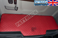 TRUCK BED COVER FIT SCANIA R & S 2017+ [NEW GENERATION] ECO LEATHER RED &BLACK