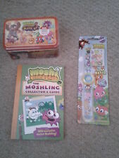Moshi Monsters - Book Moshling Collectors Guide/Trading Card Game/Slap Watch NEW