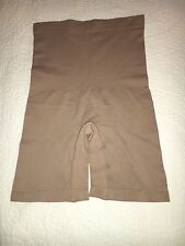 Yummie by Heather Thomson Seamless High-Waist Shaper- Tan - M/L - NWOT HSN