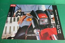 APRILIA MX 125 MOTO depliant BROCHURE CATALOGO PIEGHEVOLE  prospekt folder