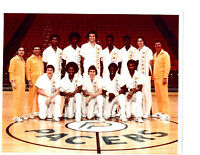 1976 INDIANA PACERS 8X10 TEAM  PHOTO KNIGHT JONES NBA  BASKETBALL HOF USA
