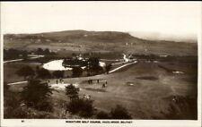 Miniature Golf Course Hazlewood Belfast Ireland c1930s-40s Real Photo Postcard