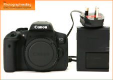 Canon EOS 750D 24MP Digital SLR Camera Body Battery & Charger  Free UK Post