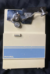 Vintage Rival Electric Can Opener Automatic Model 781/5 Tested Works