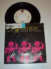 "BRONSKI BEAT & MARC ALMOND - Hit that perfect beat - 1985 Dutch 7"" Juke Box"