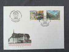 SWITZERLAND FDC 24.9. 1999 HELVETIA RUSSIA Joint Issue General SUWOROW