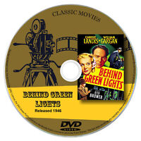 Behind Green Lights 1946 - Carole Landis - Drama, Film Noir, Mystery DVD