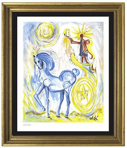 "Salvador Dali ""Horse Of Triumph""  Signed & Hand-Numbered Ltd Ed Print (unframed)"