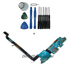 OEM Charging Port USB Connector Mic Flex Cable For Samsung Galaxy S4 i545 +Tools