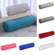 Round Bolster Pillow Cushion Sofa Bed Roll Column Pillow Cervical Spine Support