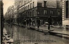 CPA La Grande Crue de la Seine. 4 Rue du Bac Systeme americain (561735)