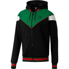 Puma Lux MCS Sweatsuit Hooded Track Jacket XXXL Sweater Hoodie Green Red Black