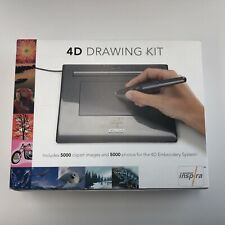 Wacom 4D Drawing Kit Tablet - New In Box - Inspira - Embroidery