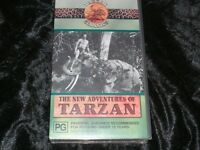 TARZANS THE NEW ADVENTURES OF VHS VIDEO PAL~ A RARE FIND~MINT SEALED