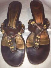 Marco Tozzi 2-2-27105-28 197 Schuhe Damen Leder Pantoletten weiß gold cognac