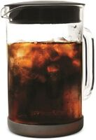 Primula PCBBK-5351 Pace Cold Brew Coffee Maker, 1.6 Quart, Clear