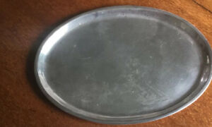 Fisher Sterling Oval Tray